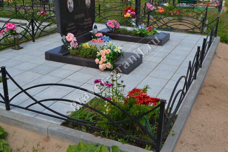 Укладка тротуарной плитки на кладбище цена гранитные памятники каталог Новый Уренгой